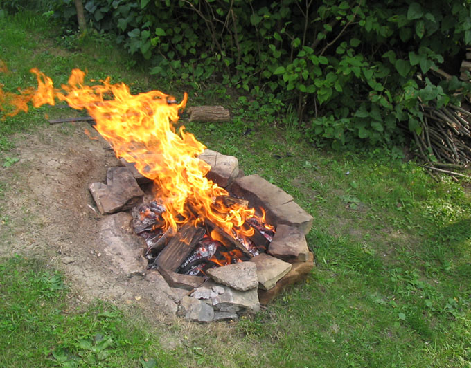 Not hell - just a fire