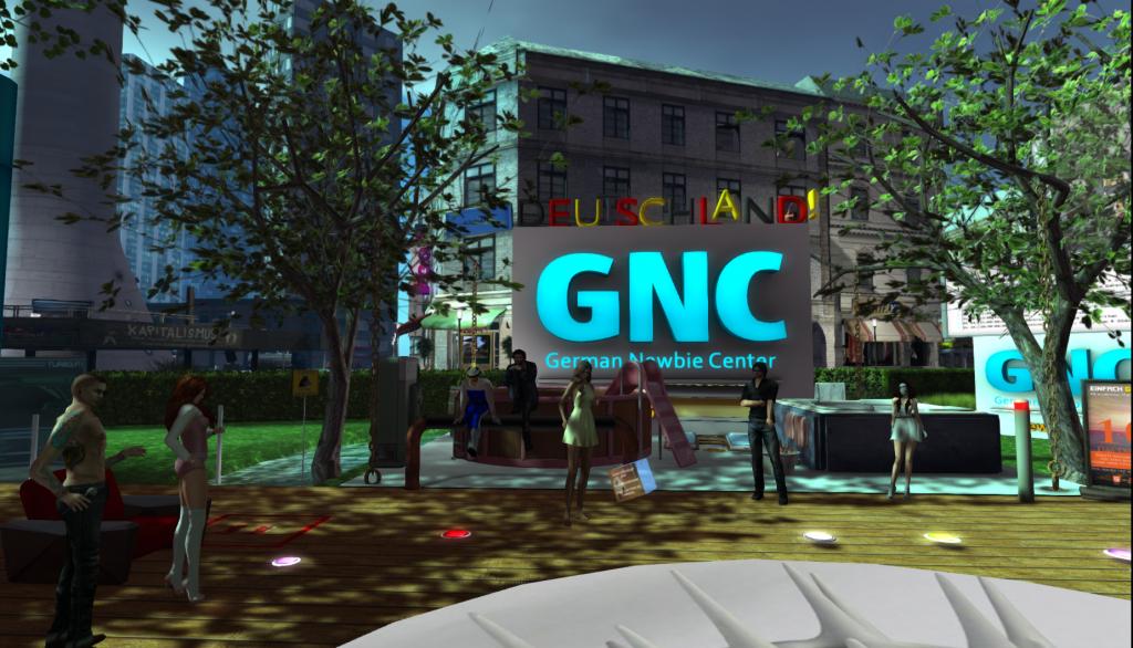 GNC - das German Newbie Center in NewBERLIN, Secondlife